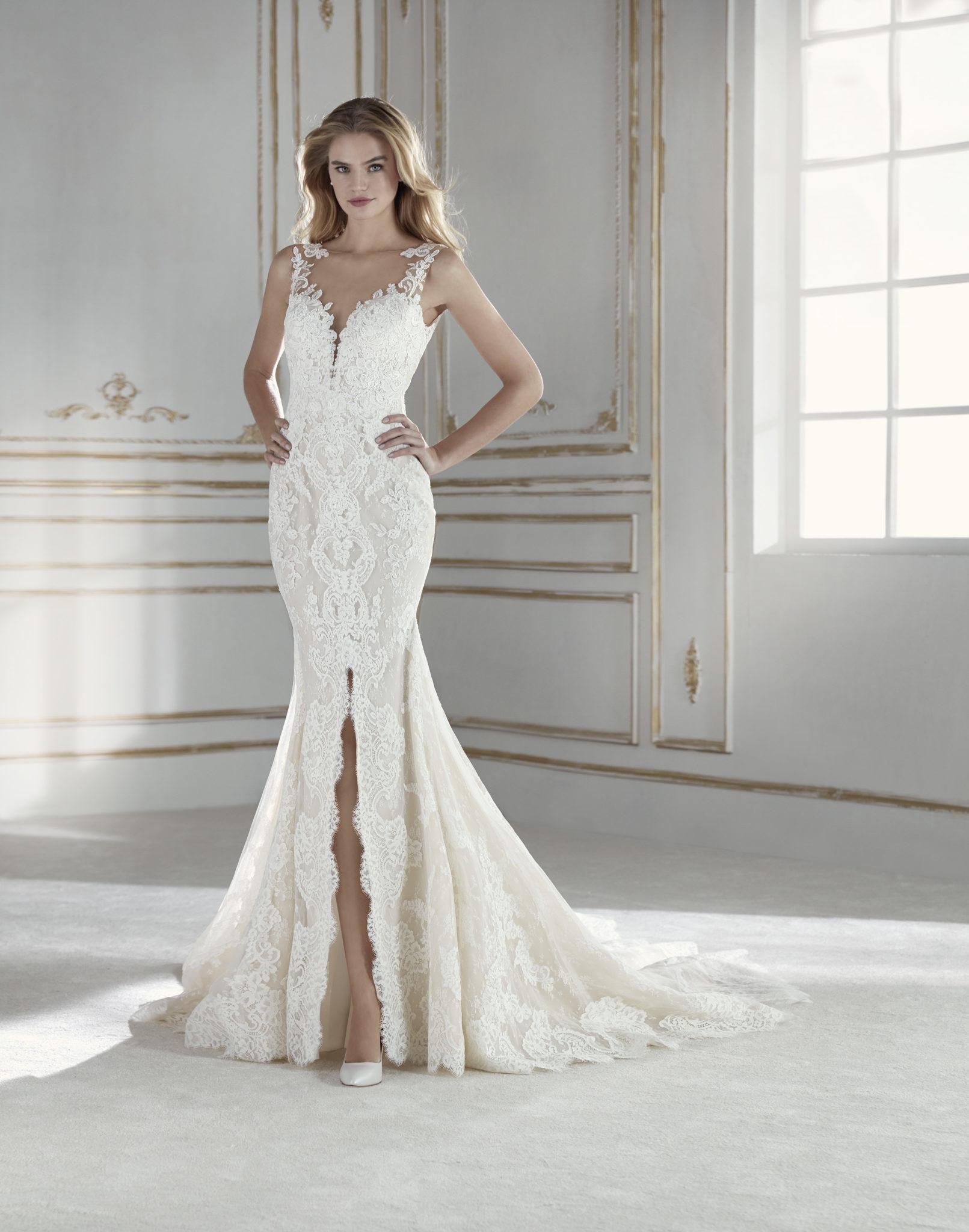 Brautkleider aus Satin Frankfurt